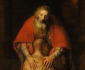 Rembrandt, Return of the prodigal 1661-69